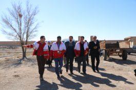 سفر یک روزه ی رئیس جمعیت هلال احمر کشور به رفسنجان / گزارش تصویری