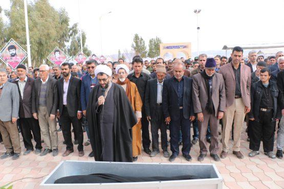 پیکر پدر شهیدان ضیاالدینی در رفسنجان تشییع و خاکسپاری شد / تصاویر