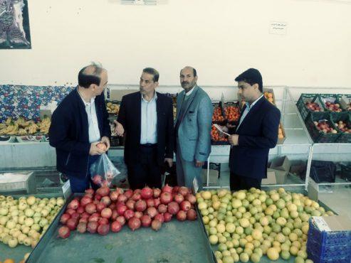 بازرسی روزانه از اصناف و بازاریان در رفسنجان با حضور رئیس اداره صنعت ،معدن و تجارت