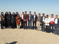 تور رسانه ای خبرنگاران رفسنجان به جوادیه الهیه فلاح / گزارش تصویری