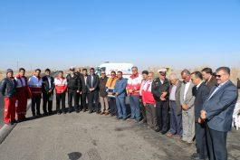 آغاز بکار کمپین ۶۰۳۰ از ورودی های شهر رفسنجان / عکس