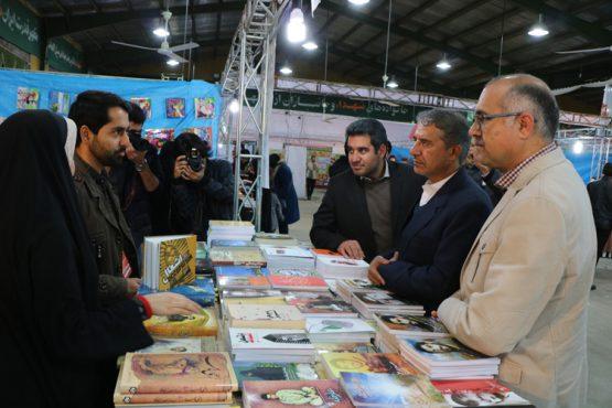 دوازدهمین نمایشگاه کتاب مس در رفسنجان به ایستگاه آخر رسید/ تصاویر