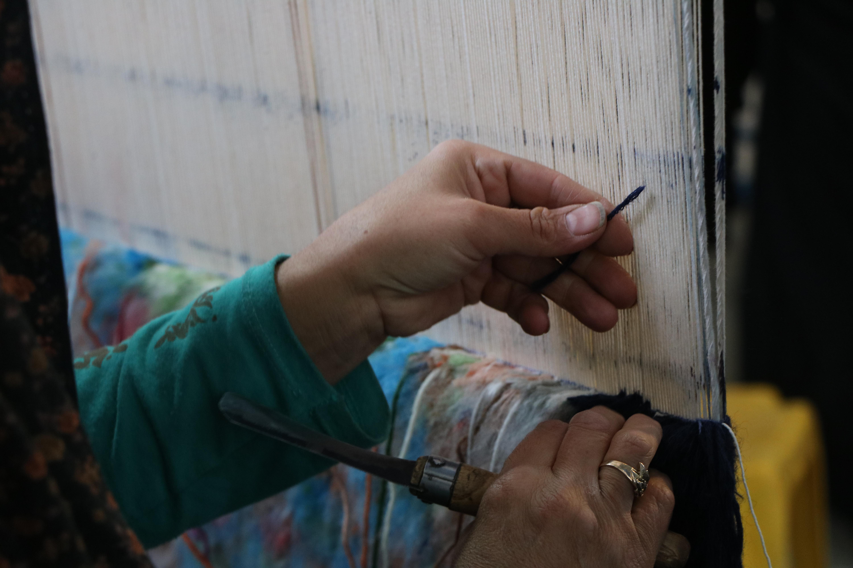 90 قالی در رفسنجان برای صحن حضرت زهرا (س)بافته شده است