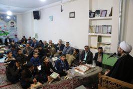 جلسه قرآن مصباح رفسنجان یکساله شد / عکس