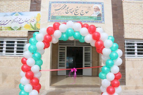 افتتاح ساختمان جدید و نمایشگاه انقلاب و دست سازهای دانش آموزان دبیرستان مجتمع علوی رفسنجان / تصاویر