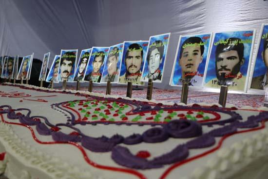 برگزاری جشن تولد شهدای هرمز آباد رفسنجان/عکس