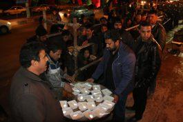 عزای فاطمی در هیات علی اصغر رفسنجان این بار همراه با ارائه خدمات اجتماعی + تصاویر