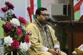محفل انس با قرآن با حضور قاری بین المللی سید جواد حسینی در رفسنجان برگزار شد / عکس