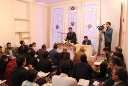 جشنواره تلاوتهای مجلسی در مرحله استانی به میزبانی رفسنجان برگزار شد / عکس