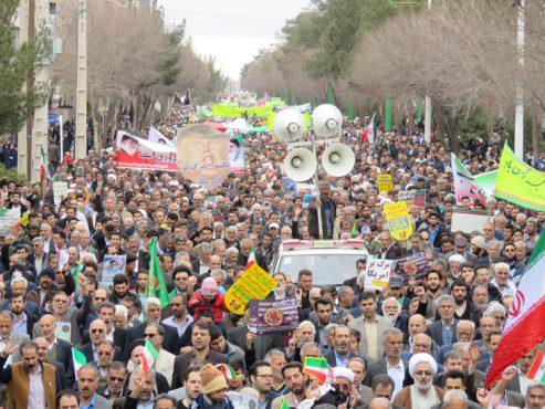 پیام های قدردانی مسئولین از حضور باشکوه مردم رفسنجان در راهپیمایی 22 بهمن
