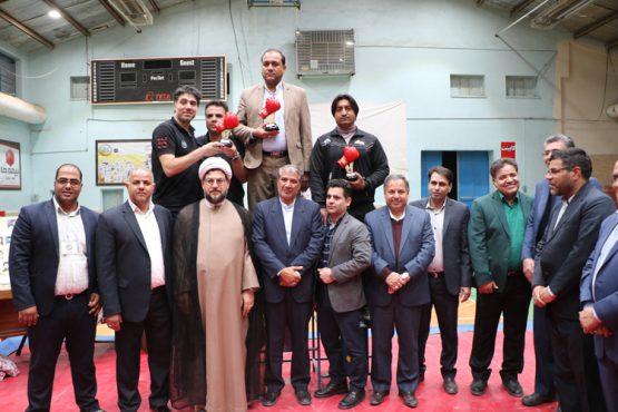 مسابقات بوکس باشگاه های برتر کشور در رفسنجان برگزار شد / تصاویر
