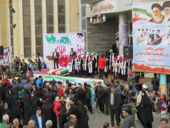 آغاز راهپیمایی ۲۲ بهمن در رفسنجان