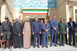 زنگ انقلاب در مدرسه آیت الله هاشمی در رفسنجان نواخته شد / تصاویر
