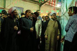 """افتتاحیه نمایشگاه """" مدرسه انقلاب"""" در رفسنجان / 13 مدرسه انقلاب در مدارس این شهرستان برپاست"""