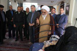 دیدار مسئولین رفسنجان با خانواده های شهداءدر ششمین روز از دهه مبارک فجر / عکس