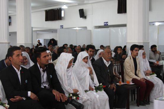 ازدواج فاطمی 14 زوج در رفسنجان برگزار شد / تصاویر