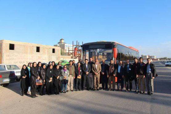 دومین تور رسانه ای شهرداری رفسنجان برگزار شد / عکس