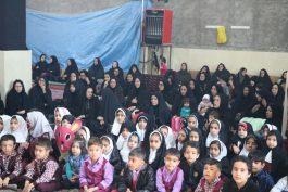 اجتماع عزاداران نونهال فاطمی در مسجد امام حسین (ع) رفسنجان / تصاویر
