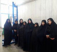 بازدید جمعی از خبرنگاران رفسنجان از کارگاه قالیبافی عتبات روستای هرمزآباد / عکس