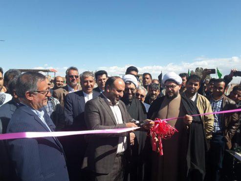 پروژه پل گیودری در شهر رفسنجان افتتاح شد / تصاویر