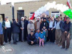 افتتاح 5 واحد روستایی در سرپل ذهاب که با مشارکت گروه جهادی کربلای رفسنجان احداث شد