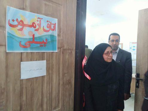 افتتاح دو واحد ارزیابی تکامل کودکان در رفسنجان / عکس