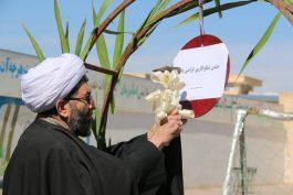 نواخته شدن زنگ نیکوکاری در مدارس رفسنجان با شعار عیدی برای همه / تصاویر