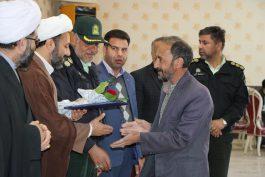 تقدیر از خانواده های معظم ۲۷ شهید نیروی انتظامی در رفسنجان / تصاویر