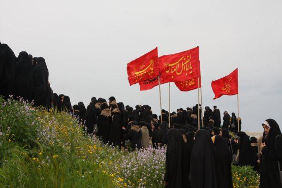اردوی راهیان نور دانشجویان دانشگاه ولیعصر رفسنجان در قاب دوربین خانه خشتی