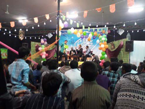 حضور گروه تئاتر هزار دستان رفسنجان در هجدک کرمان