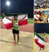 درخشش پیمان نصیری ورزشکار دو ومیدانی مس سرچشمه در مسابقات پارا آسیایی جاکارتا