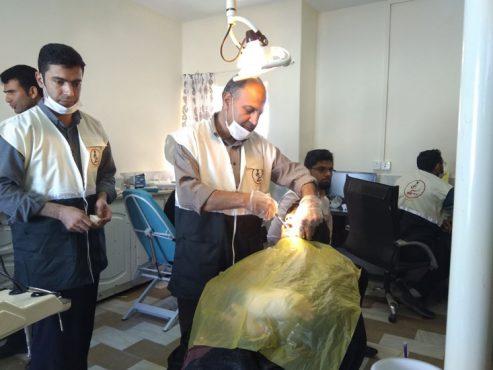 خدمت رسانی به بیش از ۱۰۰۰ نفر در اردوی جهادی درمانی پاریز با حمایت مجتمع مس سرچشمه