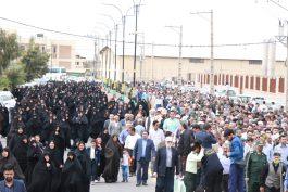 راهپیمایی حمایت از سپاه در رفسنجان برگزار شد / تصاویر