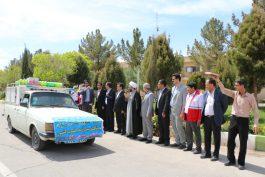 160 میلیون کمک نقدی و غیر نقدی با بدرقه مسئولین رفسنجان به خوزستان ارسال شد / تصاویر