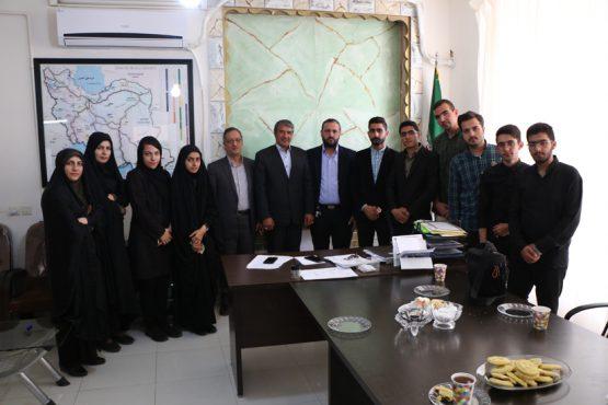 بازدید صمیمانه مدیر مسئول و خبرنگاران پایگاه خبری خانه خشتی با نماینده مردم رفسنجان / عکس