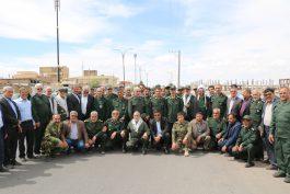 """مردم و مسئولین رفسنجان به کمپین """" من هم سپاهی ام"""" پیوستند / تصاویر"""