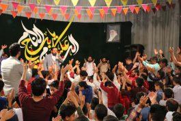 جشن میلاد صاحب الزمان(عج) در حسینیه نخل رفسنجان برگزار شد / تصاویر