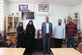 دیدار صمیمانه مدیر مسئول و خبرنگاران خانه خشتی با رئیس آموزش و پرورش رفسنجان / عکس