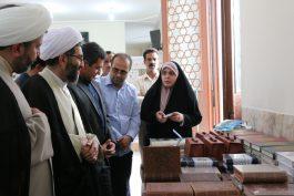 نمایشگاه علوم قرآنی در رفسنجان گشایش یافت + عکس