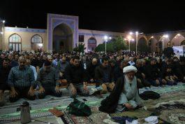 احیاء شب بیست و یکم ماه رمضان در مساجد و تکایای رفسنجان / گزارش تصویری