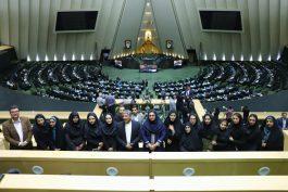 ولوله ی خبرنگاران رفسنجان در مجلس به روایت تصویر