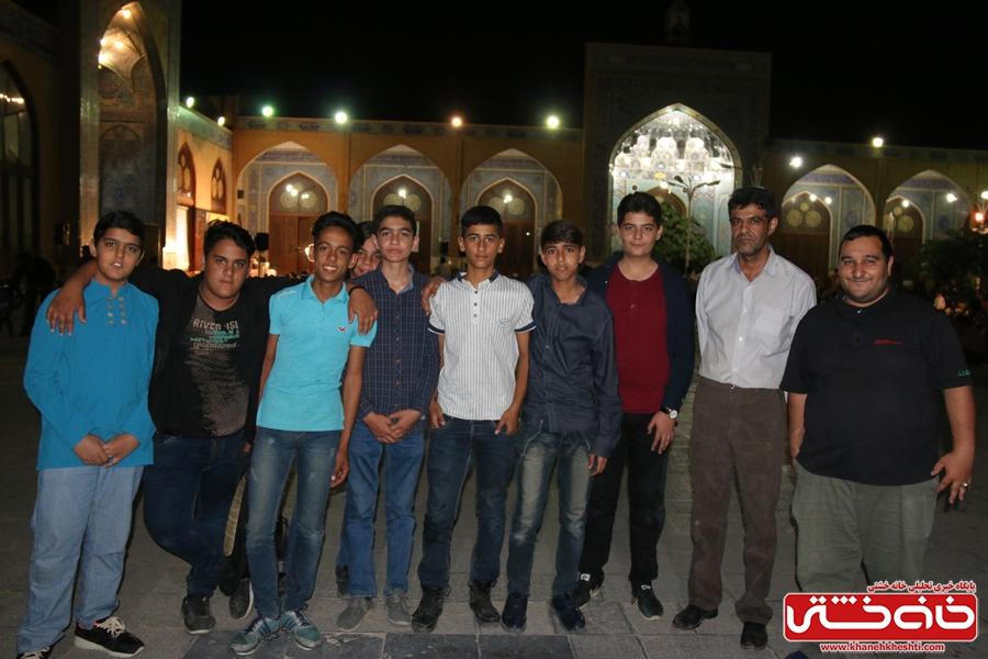 مراسم وداع با ماه مبارک رمضان در مسجد جامع رفسنجان