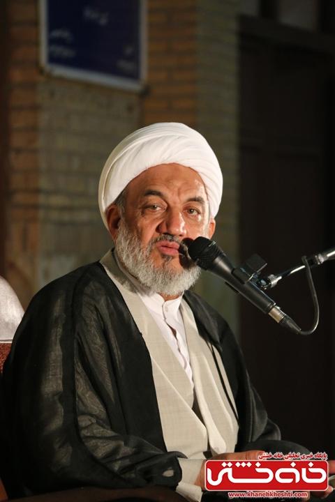 سخنرانی حجت الاسلام دکتر مرتضی آقا تهرانیدر مراسم وداع با ماه مبارک رمضان در مسجد جامع رفسنجان