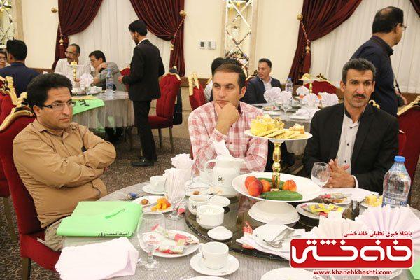 آئین نکوداشت روز خبرنگار در رفسنجان برگزار شد / عکس