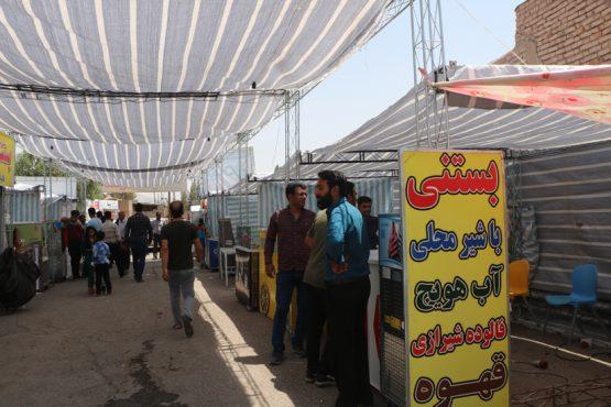 کبوترخان رفسنجان میزبان دومین جشنواره پسته و بستنی / تصاویر