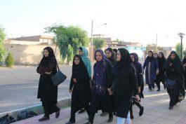 پیاده روی خبرنگاران و خانواده هایشان به مناسبت روزخبرنگار/عکس