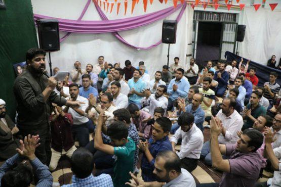 جشن میلاد امام هادی (ع) در حسینیه  نخل رفسنجان/ تصاویر