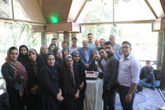 دورهمی خبرنگاران خانه خشتی با حضور شهردار رفسنجان / عکس