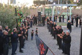 عزاداری خادمین افتخاری مسجد جمکران در رفسنجان + عکس
