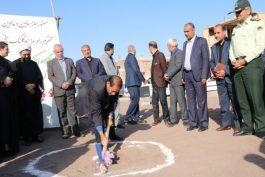 کلنگ آموزشگاه ۱۲ کلاسه خیرساز در رفسنجان بر زمین زده شد/ عکس